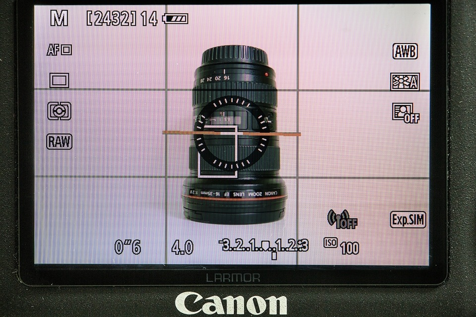 Canon 5DIII live view