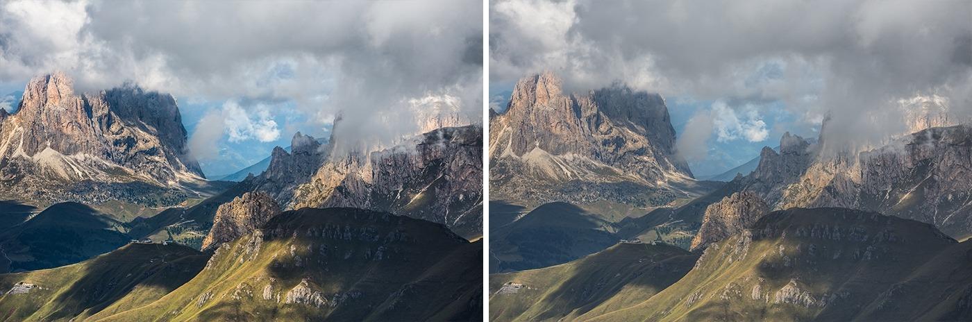 Editing landscape photos -contrast