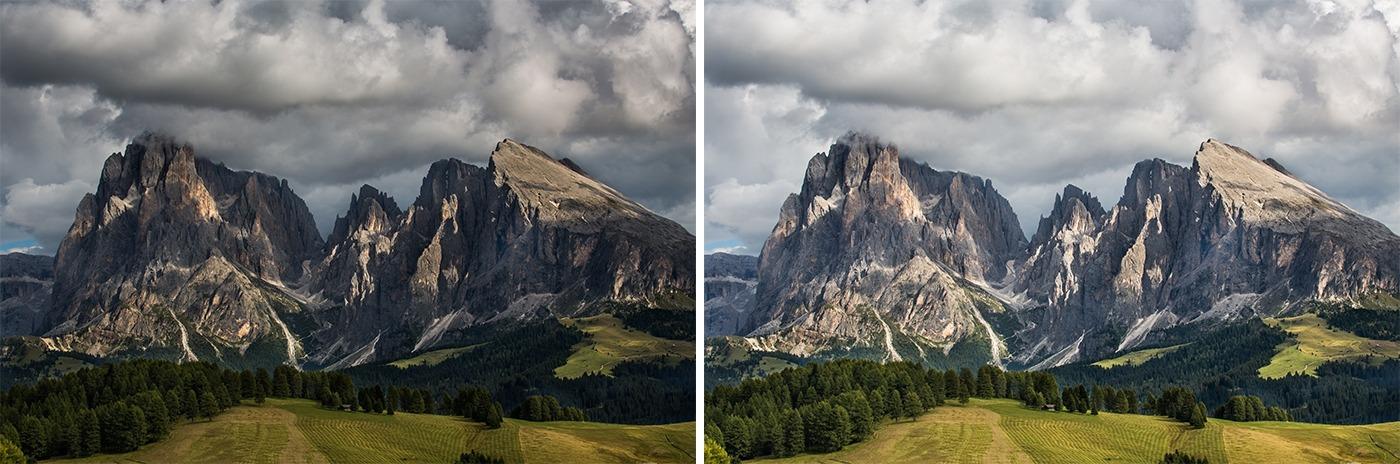 Editing landscape photos -exposure