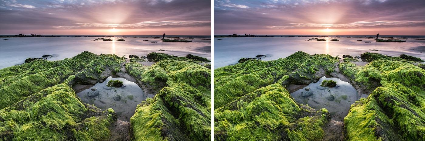 Editing landscape photos - vibrance