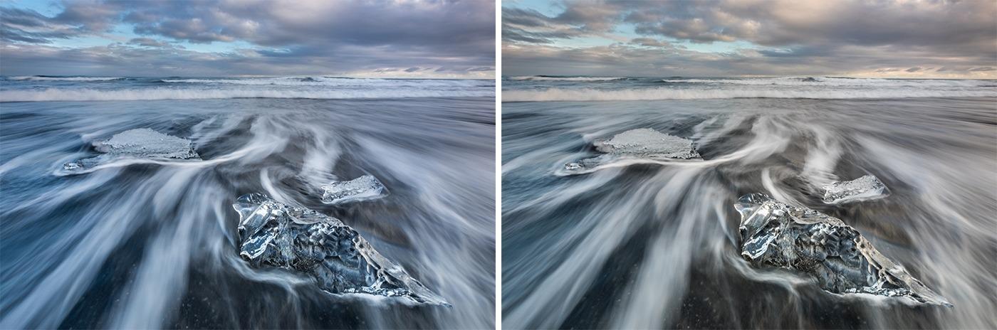 Editing landscape photos -white balance
