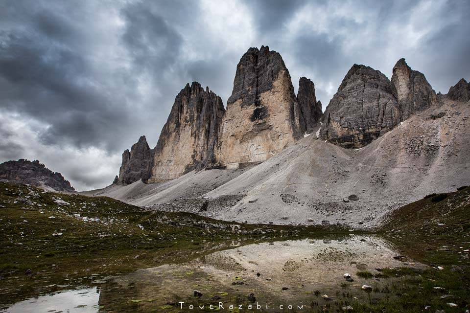 רכס טרה צ'ימה | טיול צילום נוף דולומיטים - תומר רצאבי