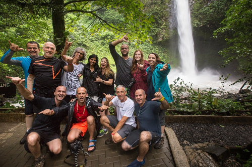 My group in a photography workshop at Costa Rica - Tomer Razabi Photography