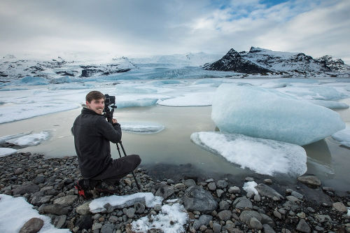 My group in a photography workshop In Iceland - Tomer Razabi Photography