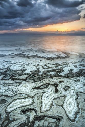 צילום נוף ים המלח - תומר רצאבי