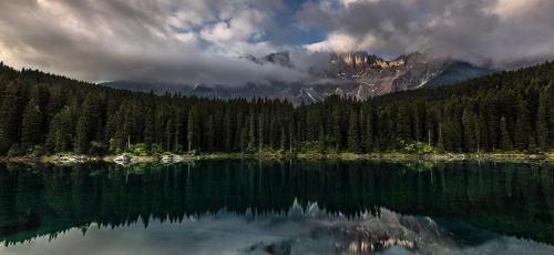 אגם קארצה - מותך סדנת צילום נוף בהרי הדולומיטים באילטיה | תומר רצאבי