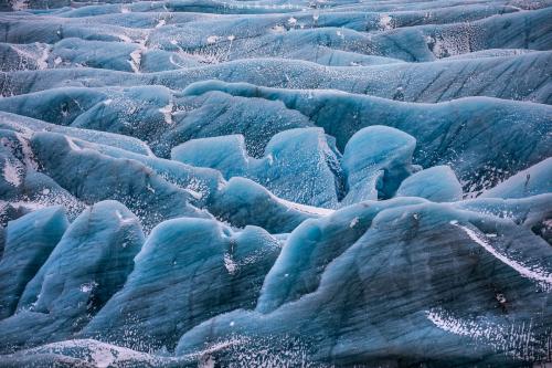 Glaciers at Svinafellsjokul in Iceland - Tomer Razabi