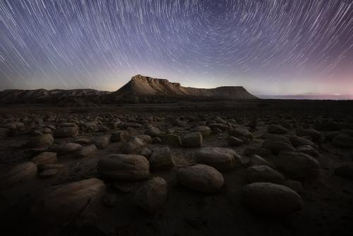 זבילי כוכבים בהר צין ושדה הבולבוסים קורס צילום נוף מתקדם - תומר רצאבי